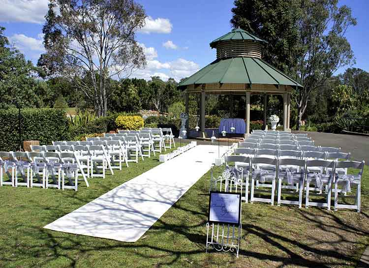 Romance Package and additional chairs