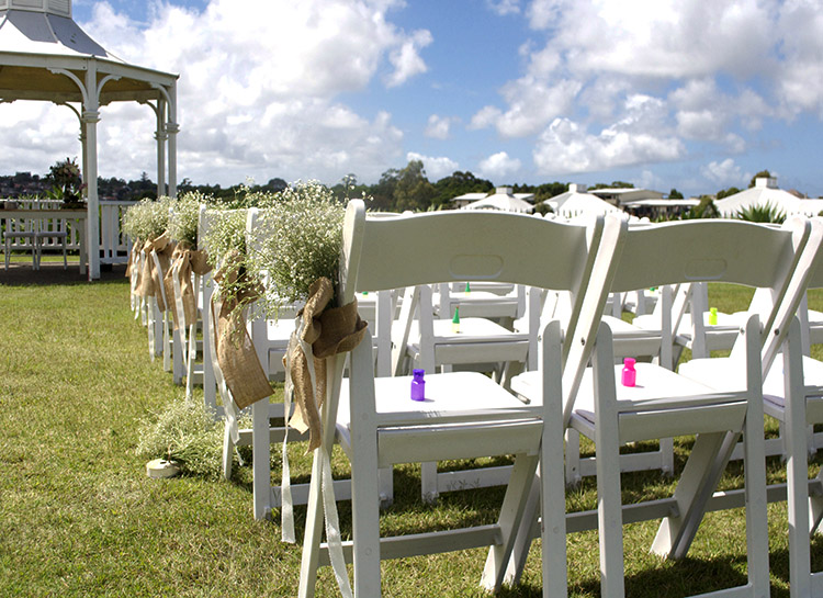 Wedding Chair Hire with Decorations