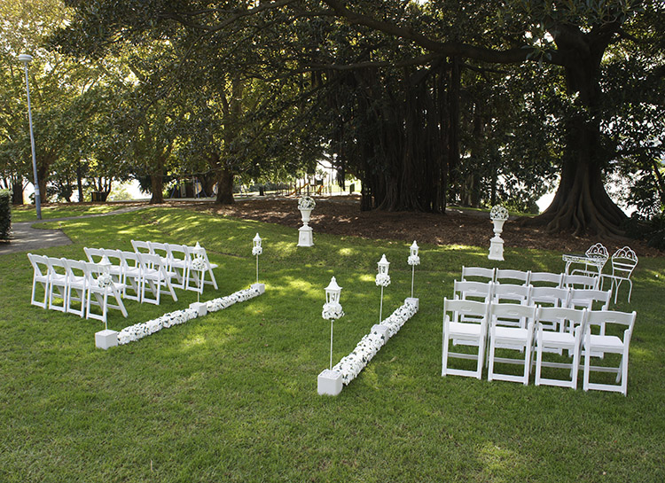 Floral Wedding Aisle